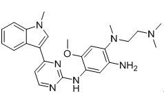 N1-[2-(Dimethylamino)ethyl]-5-methoxy-N1-methyl-N4-[4-(1-methyl-1H-indol-3-yl)-2-pyrimidinyl]-1,2,4-benzenetriamine